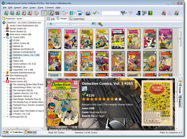 Collectorz Comic Collector software