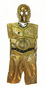 Halloween vintage Ben Cooper Star Wars C3PO costume